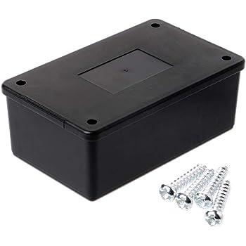 LANDUM - Caja de plástico ABS Impermeable para proyectos ...