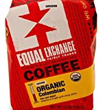 Equal Exchange Organic Coffee Colombian packd Ground 12 oz.