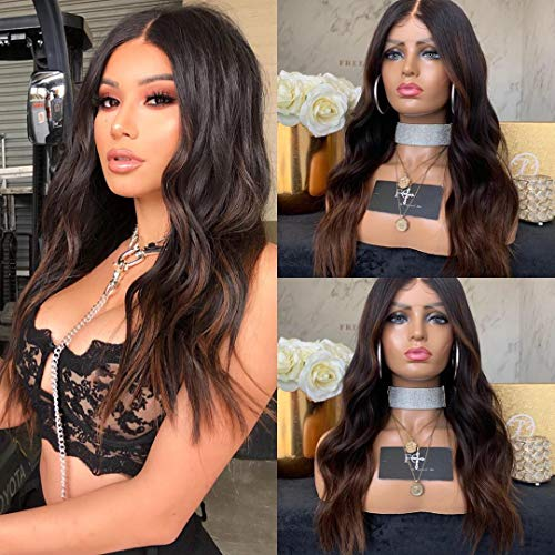 Body Wave Wig 180% Density Long Curly Hair Wig Natural big Wavy Synthetic Hair Halloween Costume Party for Black Women