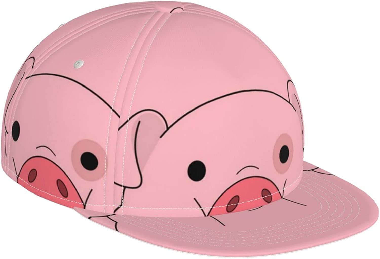 Fantasy Pink Pig Baseball Cap Adjustable B Hat 5 ☆ Ranking TOP16 very popular Cool