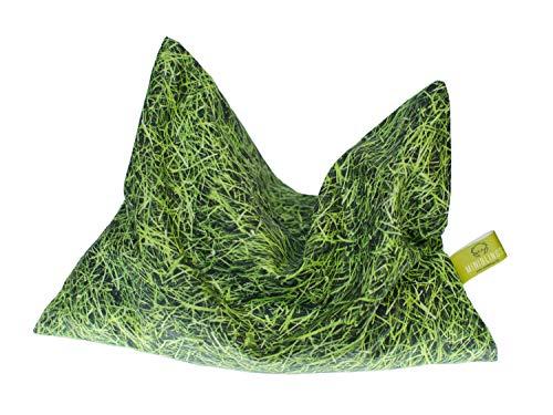 Miniblings Kirschkernkissen Bio Wärmekissen microondas 22x18cm Hierba Verde Prado