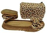 Faltbare Ballerinas Im Leo Print Modern Und Bequem Hausschuh Im Angesagten Leoparden Muster Geschenk Mitbringsel Adventskalender (Größe EUR 37)