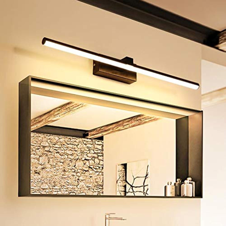 Spiegellampen Bad Spiegelleuchten Yang Spiegelfrontlicht Einfache Moderne LED Spiegel Kabinett Licht Badezimmer Wandleuchte Wc Licht Vanity Spiegel Lampe (Farbe   Warmes licht, gre   60cm)