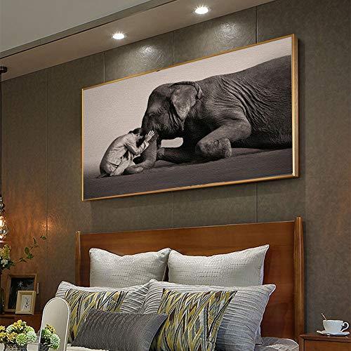 Puzzle 1000 Piezas Elefante Zen Puzzle 1000 Piezas clementoni Gran Ocio vacacional, Juegos interactivos familiares50x75cm(20x30inch)
