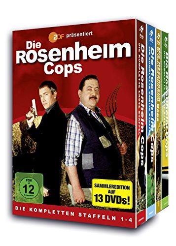 Die Rosenheim Cops - Staffel 1-4 Set (13 DVDs)