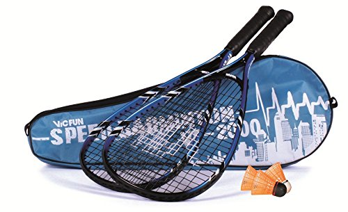 VICFUN Speed-Badminton Set VF 2000 - schwarz