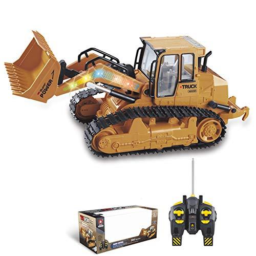 MZBZYU Simulación Micro Excavadora de Juguete 1:12 RC Camión Coche Excavador Ingeniería Electrónica Vehiculos Construccion Juguete para Niños