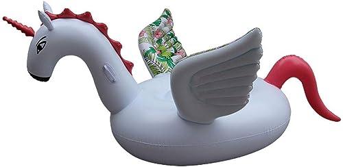 Le Flotteur Couleuré par PVC d'épaississeHommest de PVC de Piscine de lit d'air de Piscine de Pegasus Joue 200  105cm KKY-Enter