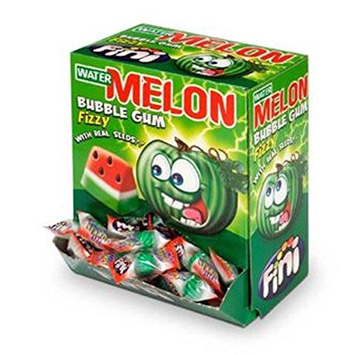 Gomas de masticar – Bubble Gum – Water Melon – Sandía – 100 unidades