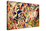 Komposition VII von Wassily Kandinsky auf Leinwand,
