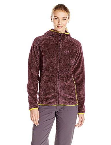 Jack Wolfskin Pine Cone Jacket Damen Fleecejacke rot bordeaux Größe: XS