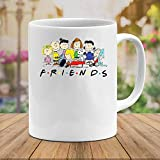 N\A #Snoopy Friends TV Show Movie Cute #Charlie Brown #Peanuts Ceramic Gift Funny Tazze Tazze