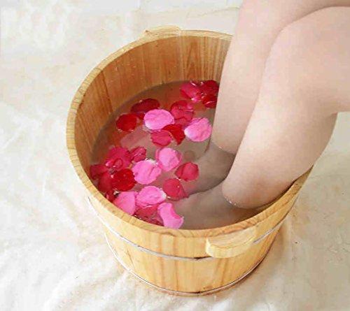 XWG voet vaten 30 cm voetenbad Thuis bekkens wastafel voet vat met een massage naar het deksel voet massage voet bad lichaam houden