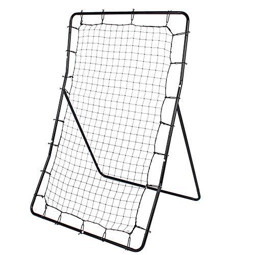 57 x 36inch Baseball Pitching Net, FoldableRebounder Net Telescopic...
