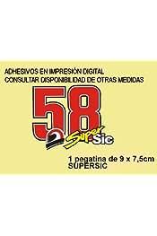 Dp125 Aufkleber Autocollants Adesivi Moto Decals Motorbike 5 cm Ecoshirt 00-T8IM-IOFH Pegatinas Stickers Vespa Ref