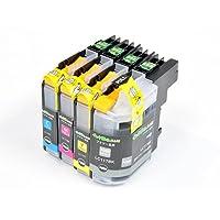 【インク革命製】 ブラザー LC117/115-4PK (4色パック大容量) brother 互換 インクカートリッジ 対応機種:MFC-J4910CDW / J4810DN / J4510N / DCP-J4215N / J4210N