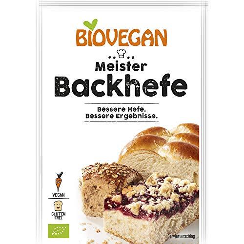 Biovegan Bio Meister Backhefe, BIO (6 x 7 gr)