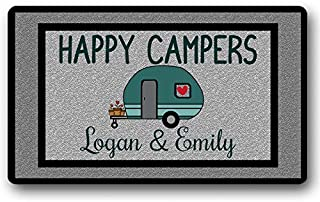 personalized camper rug