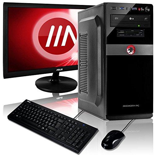 Memory PC Komplett PC A8-9600 4X 3.4 GHz, 8 GB DDR4, 240 GB SSD + 1000 GB, Radeon R7 2GB, ASUS 22