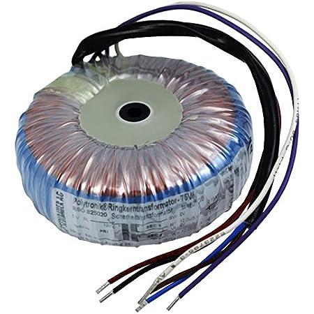 Transformateur torique 300VA 2x115V RTO-825054 2x115V ; Sedlbauer