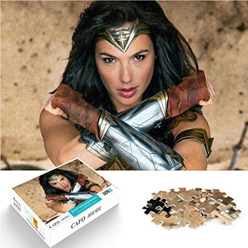 Puzzle 1000 sztuk superkobieta plakat wyzwanie puzzle raj wyspa arres gra wojownik papierowa puzzle 26 x 38 cm puzzle dla miłośników lub przyjaciół puzzle gra rodzinna
