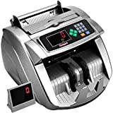 Money Counter Machine with UV/MG/IR/MT, Kaegue Bill Currency Counter Machine,Cash Counting Machine with 9 Modes, 100-240V, 2 Years Warranty