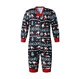 YOFASEN Pijamas de Navidad Familia - Mamá Papá Niño Impresión Conjunto de...