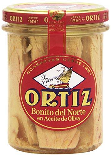 Ortiz El Velero Bonito Del Norte en Aceite de Oliva, 150g