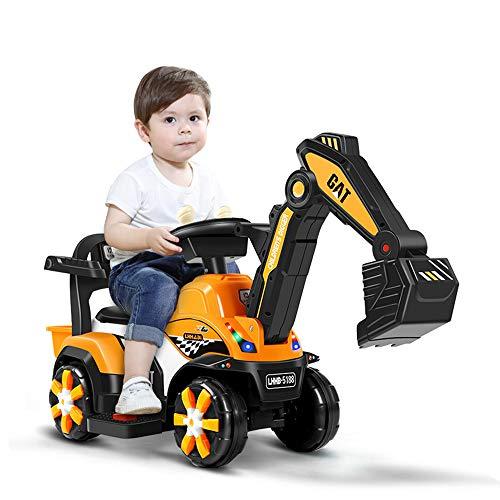 NANE Toy Cars & Trucks Kinder Elektro-Bagger Aufsitz-Large Ladetechnik Fahrzeug, Geschenk, Automatische Childs