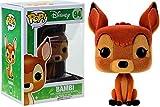 Funko - Figurine Disney Bambi - Bambi Flocked Exclu Pop 10cm - 0849803093778