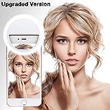 Selfie Licht, 36 LED Strahler Flash Selfie Licht Ring Fotolicht Selfie Enhancing Kamera Licht für Smartphones & Tablets mit 3 Ebene Helligkeit