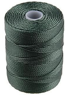 C-Lon Bead Cord, Myrtle Green - 92 Yard Spool