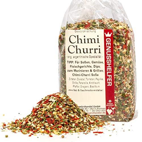Chimichurri argentinische Gewürzmischung 80 Gramm geschrotet, ohne Zusatzstoffe & ohne Geschmacksverstärker - Bremer Gewürzhandel