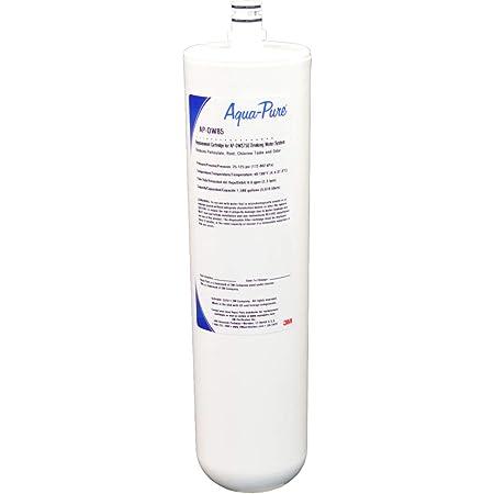 3M Aqua-Pure Under Sink Dedicated Faucet Replacement Water Filter Cartridge AP-DW85, 5584408, white