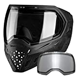 Empire EVS Paintball Mask/Goggle - 2 Thermal Lenses (Black/Black)