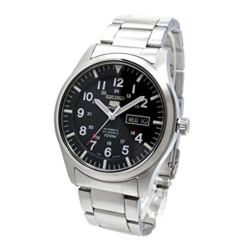 Seiko 5 Mens Day/Date Display Watch - SNZG13K1
