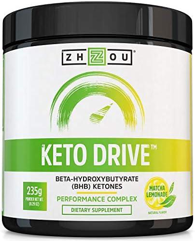 Zhou Keto Drive Exogenous Ketone Performance Complex 16 Servings 8 29 oz product image