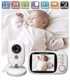 Best Video Baby Monitors - Lullaby Bay Video Baby Monitor with Camera. Anti-Hack Review