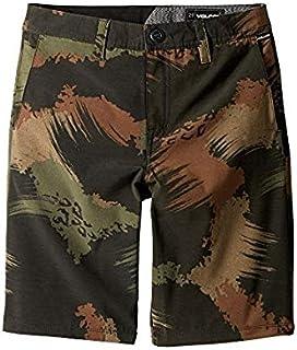 ボルコム Volcom Kids キッズ 男の子 ショーツ 半ズボン Camouflage Frickin SNT Mix Shorts (Big Kids) 25(10RegularBigKids) [並行輸入品]
