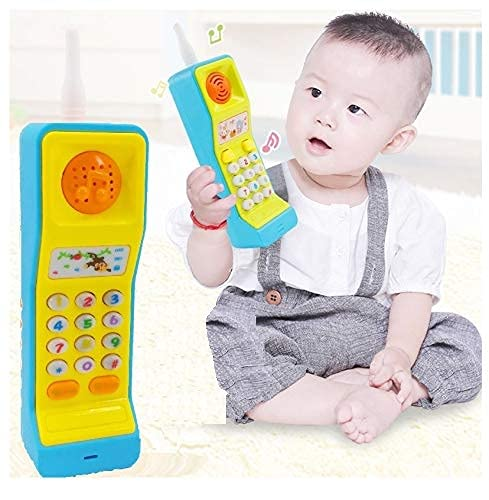 SaleOn Mobile Phone Toy Intelligent Learning Machine Study Learn Words Sing Song Plastic Hobby Intelligence Gifts Educational for Kids - Multi Color(Pack of 1)