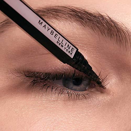 Maybelline New York Eyeliner in Penna Hyper Easy, Tratto Continuo, Facile da Applicare Grazie all'Impugnatura Esagonale, Punta Iper Flessibile, Nero, Confezione da 1