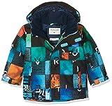 Quiksilver Little Mission - Chaqueta de Nieve para niño, Chaqueta, Niños, Color Azul y Naranja, tamaño Talla 3
