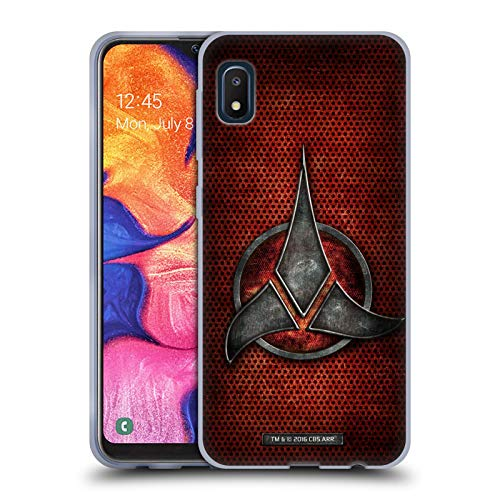 Head Case Designs Officially Licensed Star Trek Empire Klingon Badges Soft Gel Case Compatible with Samsung Galaxy A10e (2019)