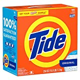 Tide Original HE Turbo Powder Laundry Detergent with Acti-Lift Crystals - 15.8...