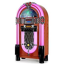 Lacoon GoldenAge años 40/50 Jukebox con CD, USB, MP3