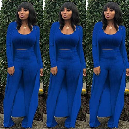 Royal blue womens pant suit _image3