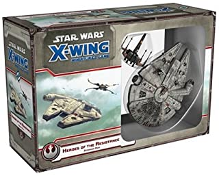Star Wars X-Wing Heroes of The Resistance Strategy Game