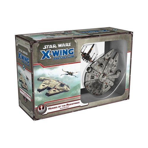 Fantasy Flight Games FFGSWX57 Heroes of The Resistenza Star Wars X-Wing Miniatures Game Expansion Pack