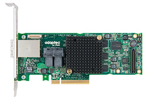 Adaptec Controller Card RAID 8885 Series 8 12Gb/s PCI-Express SAS/SATA Adapter braun Box 2277000-R
