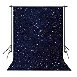 FUERMOR Background 5x7ft Night Sky Stars Photography Backdrop Props Studio Photo Backdrops LXFU202